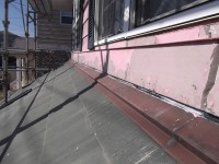 経年劣化により塗装が剥がれボロボロに。