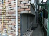 外壁施工中