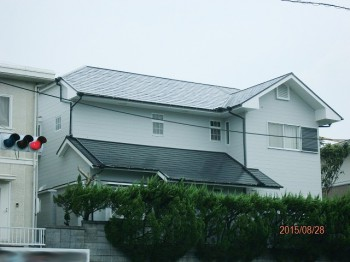 屋根・外壁After