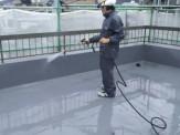 屋上 洗浄