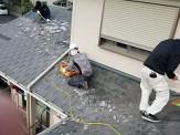 既存屋根の撤去
