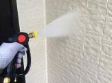 外壁高圧洗浄作業