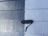 屋根上塗り塗付