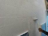 外壁上塗り塗付
