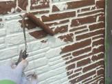 外壁2色塗り分け②